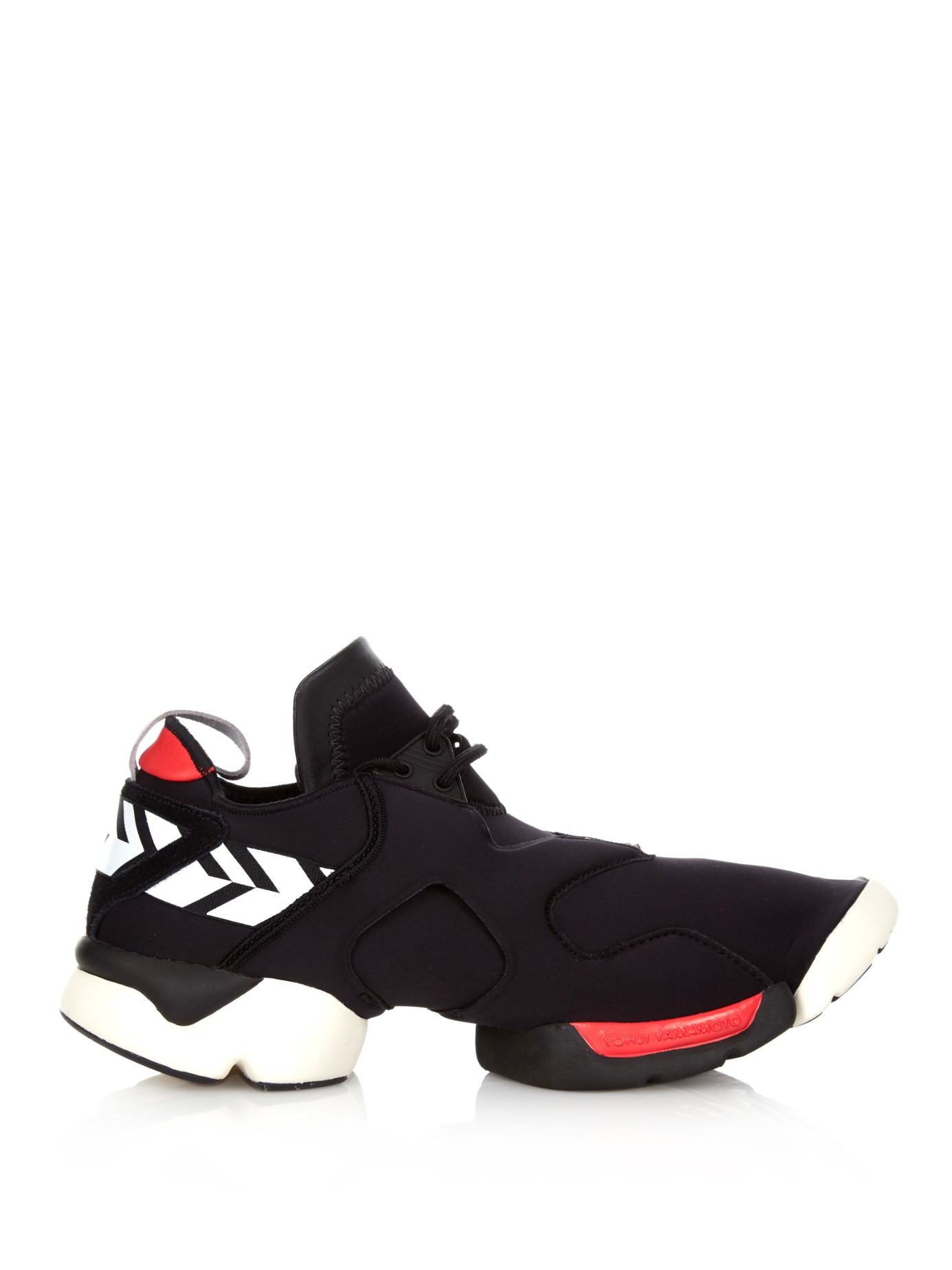 7fe0991bc45417 Lyst - Y-3 Kohna Low-Top Sneakers in Black for Men