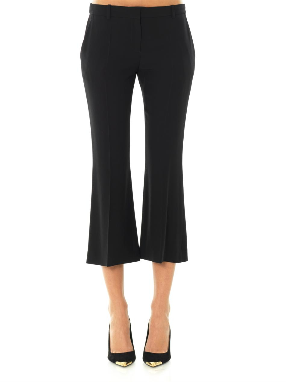 flared trousers - Black Alexander McQueen md5mqkzD