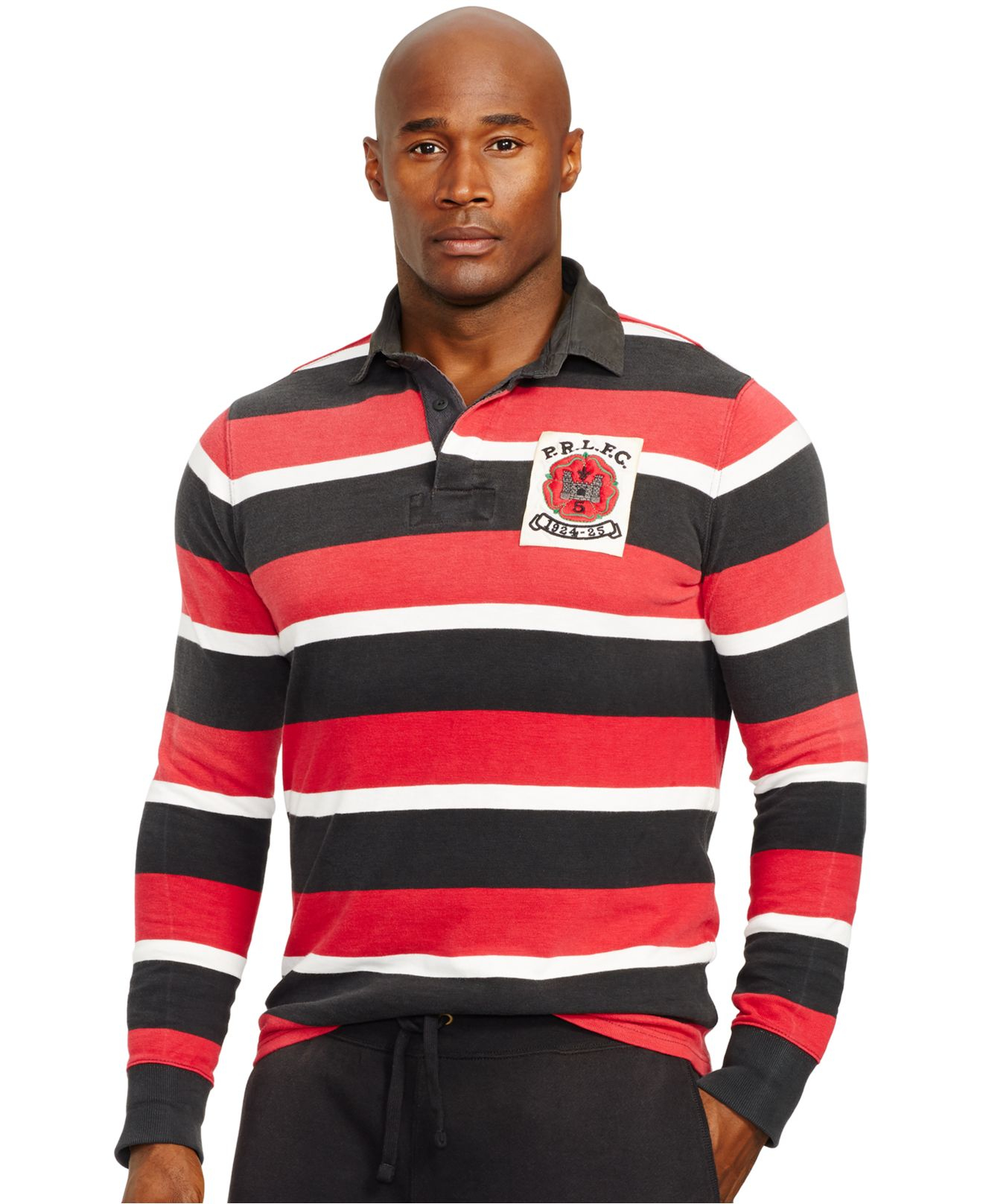 Lyst Polo Ralph Lauren Big And Tall Striped Jersey Rugby
