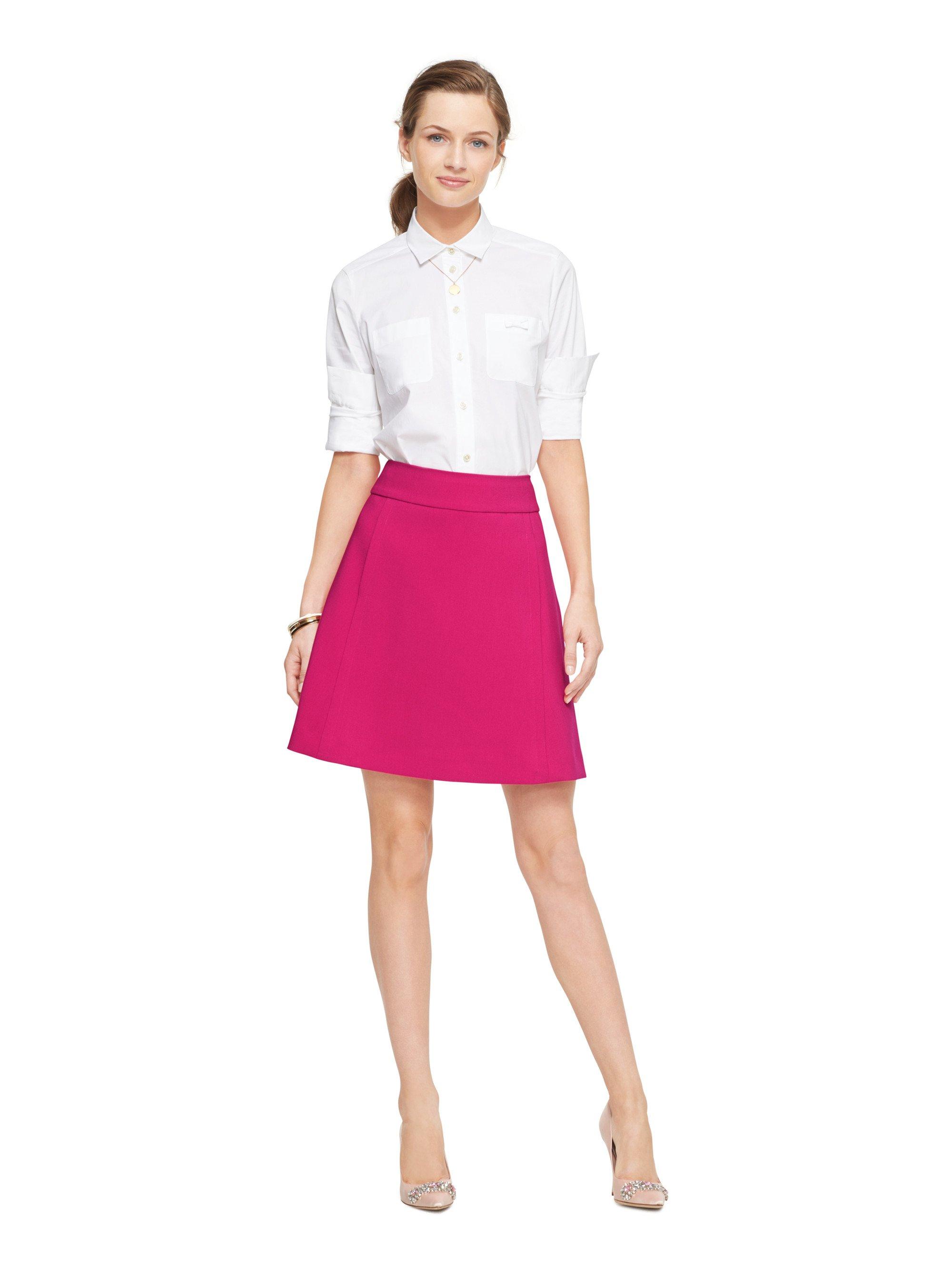Pink A Line Skirt - Dress Ala