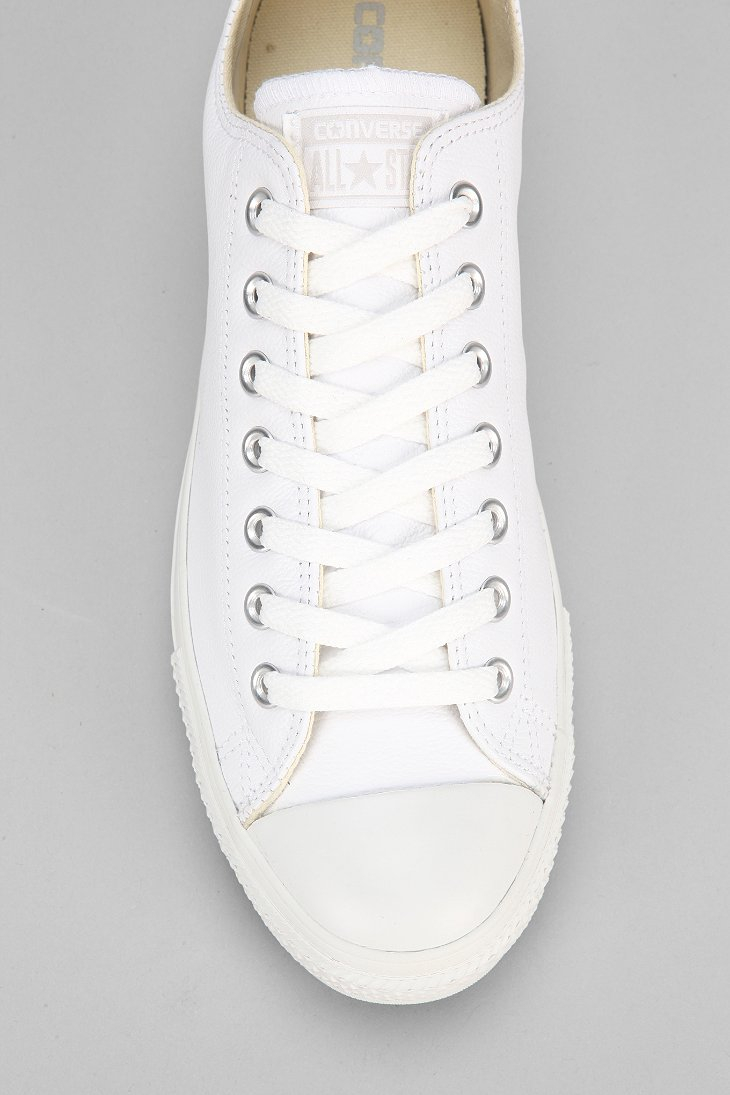 Lyst Converse Chuck Taylor All Star Leather Low Top Men