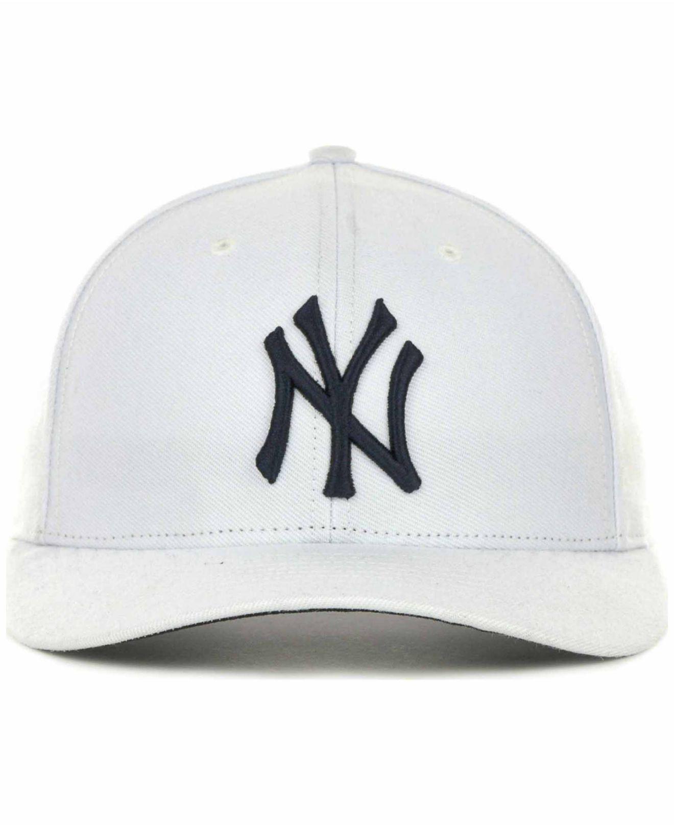 the latest f4abf 37576 47 Brand New York Yankees Mvp Cap in White for Men - Lyst