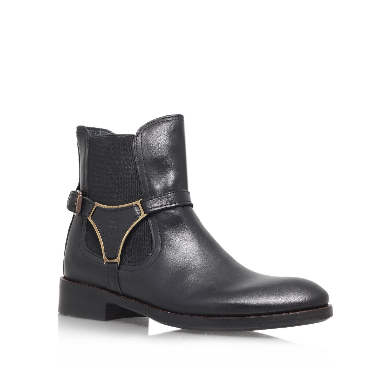tommy hilfiger hamilton ankle boot in black for men lyst. Black Bedroom Furniture Sets. Home Design Ideas