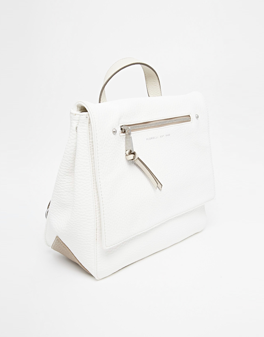 Lyst - Fiorelli Petra Backpack in White