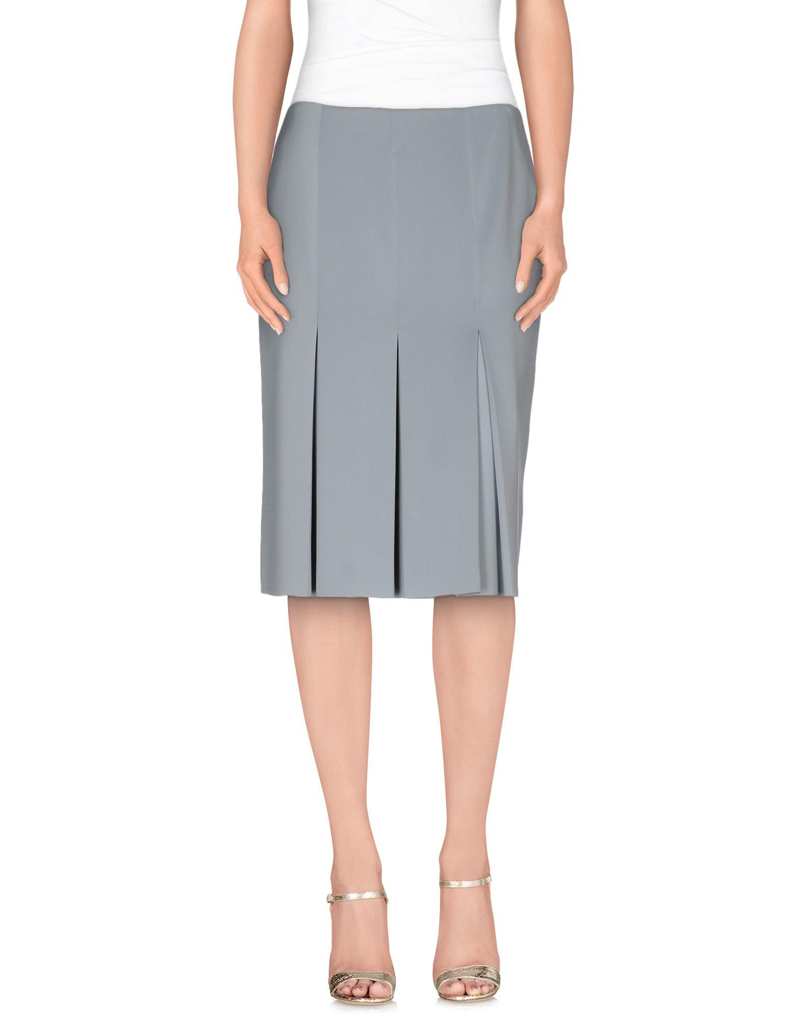 normaluisa knee length skirt in blue sky blue save 46