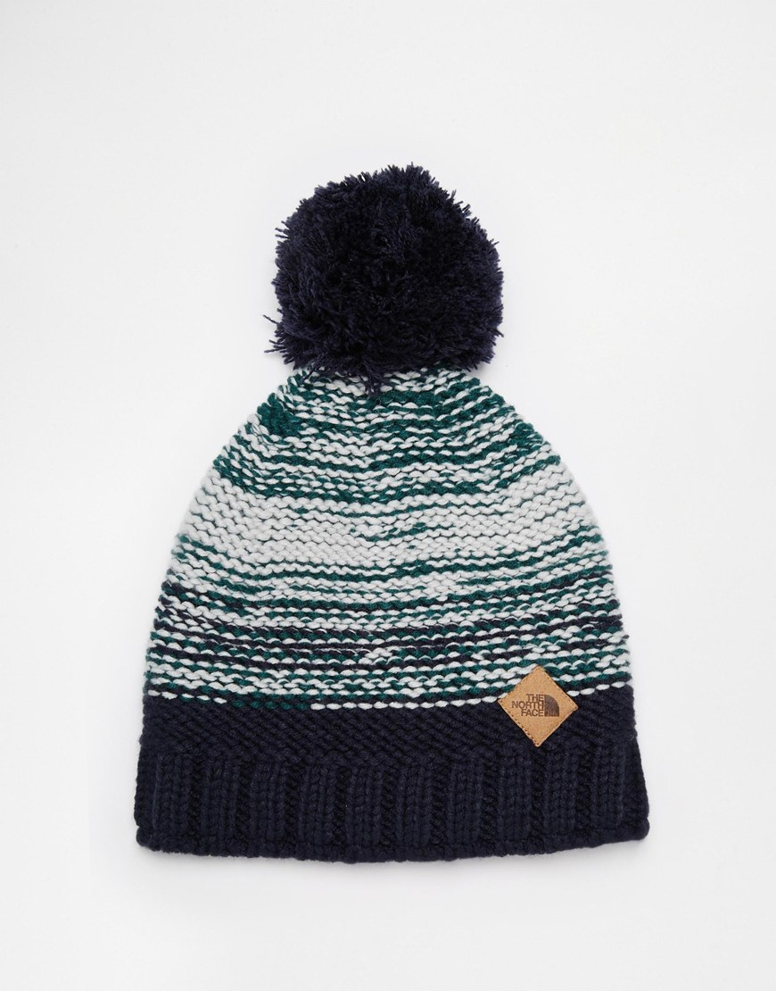 afed646891d Lyst - The North Face Antlers Beanie Hat in Blue for Men