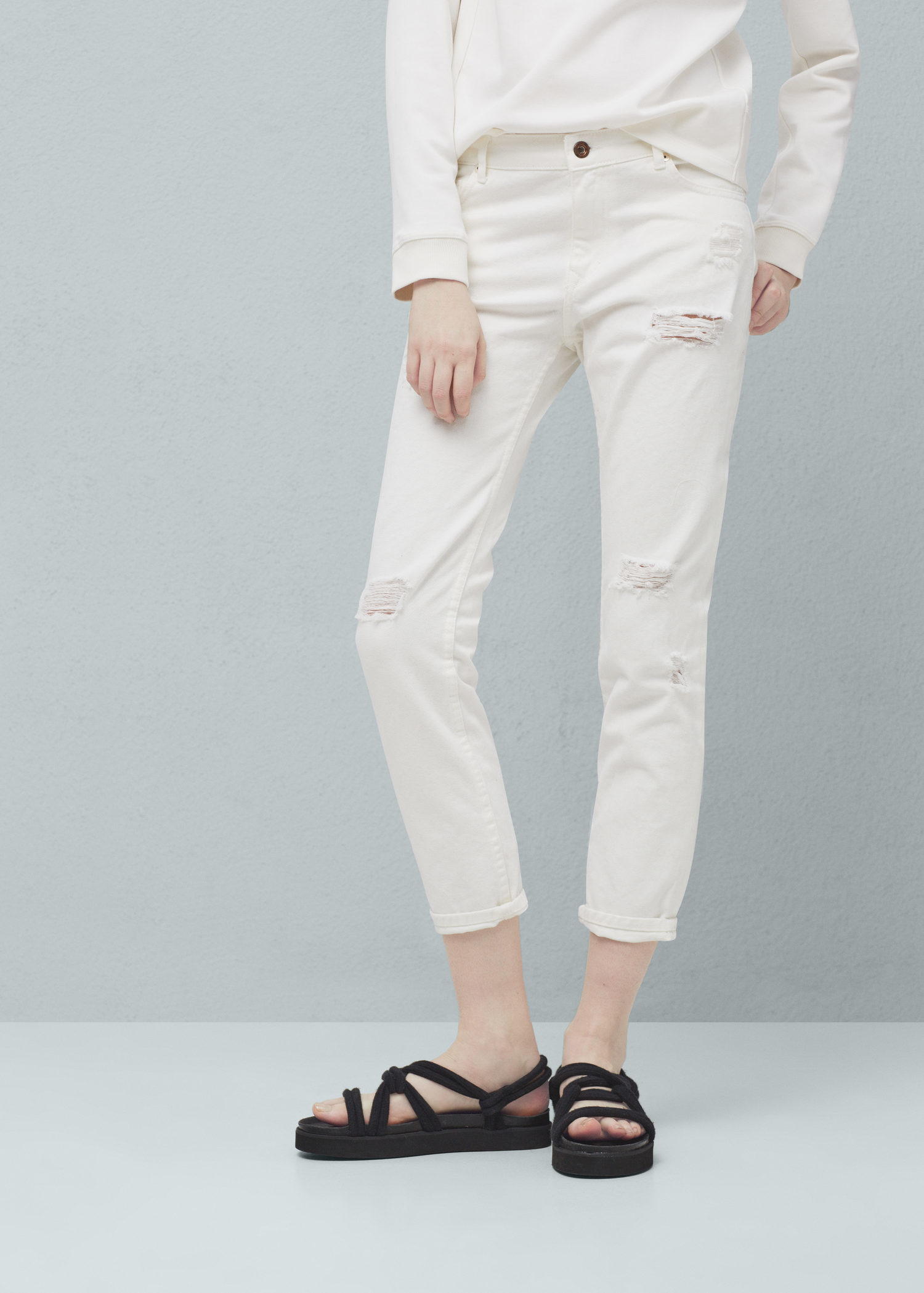 Gallery. Women's White Jeans