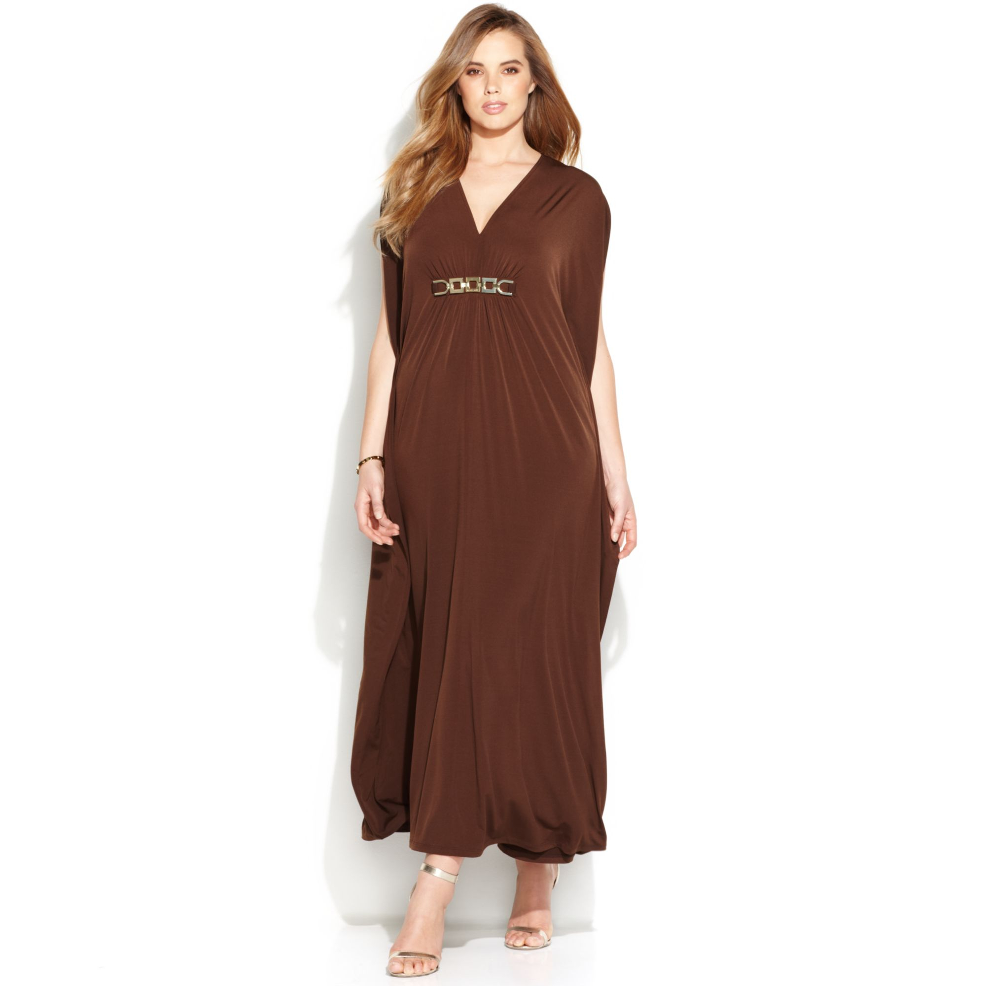 Chocolate Brown Plus Size Dresses – Fashion dresses