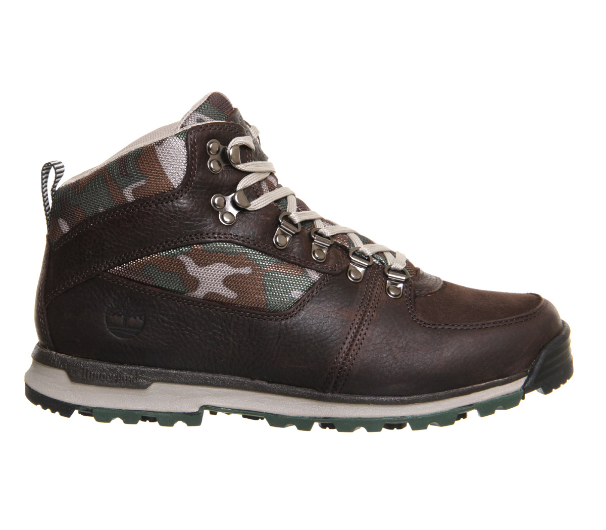 timberland scramble mid boots in brown for lyst