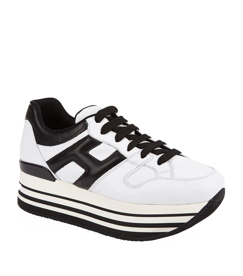 2hogan 283 maxi platform sneakers