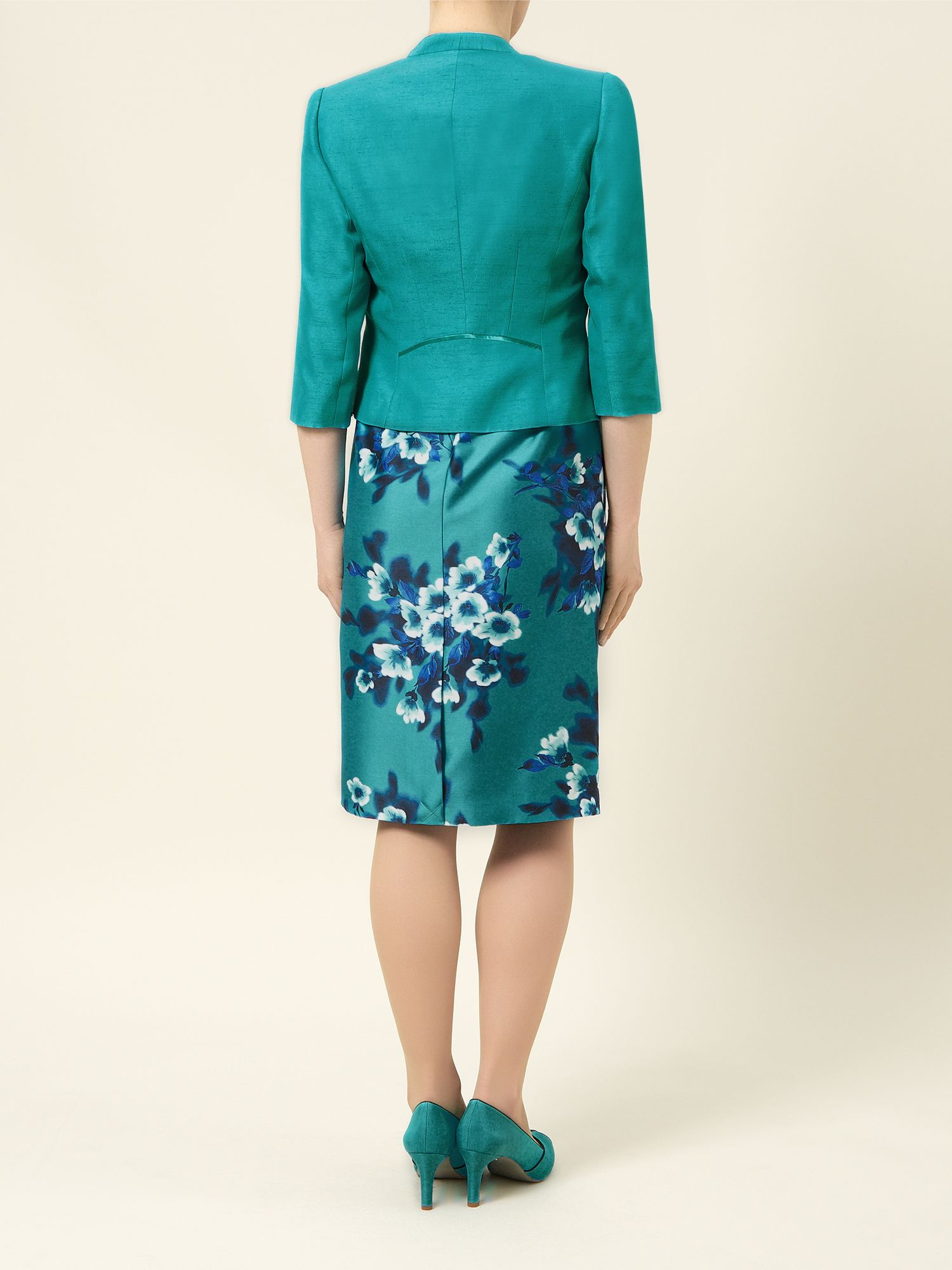 Lyst - Jacques Vert Edge To Edge Jacket in Blue