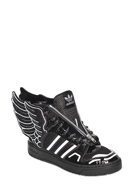 Lyst Jeremy Scott para Adidas JS Wings Mesh High Top Sneakers