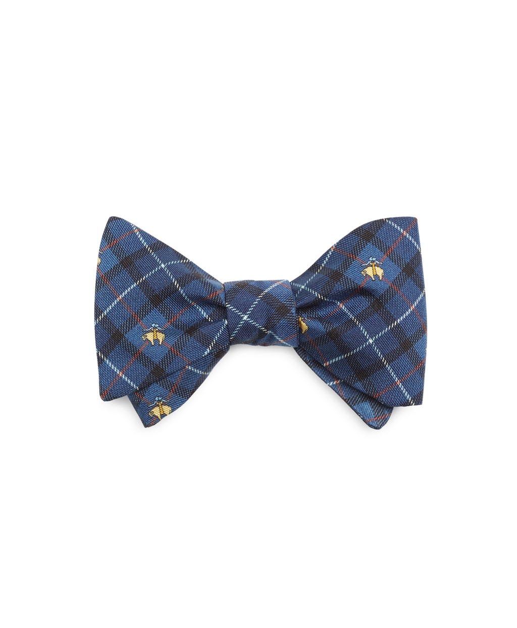Brooks brothers Holiday Plaid Print Bow Tie in Blue for ...