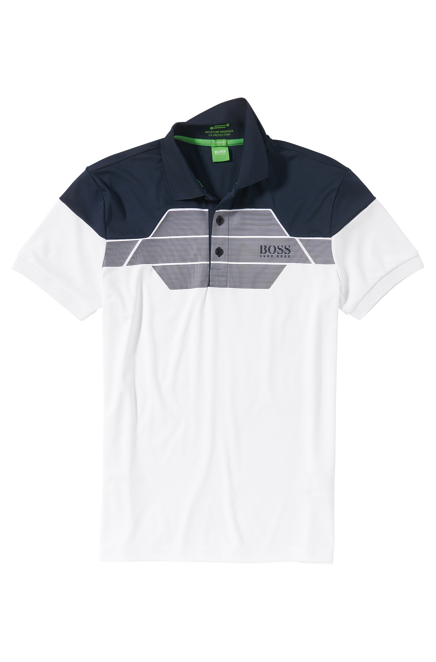 Boss green modern fit golf polo 39 paddy pro 3 39 with Modern fit golf shirt