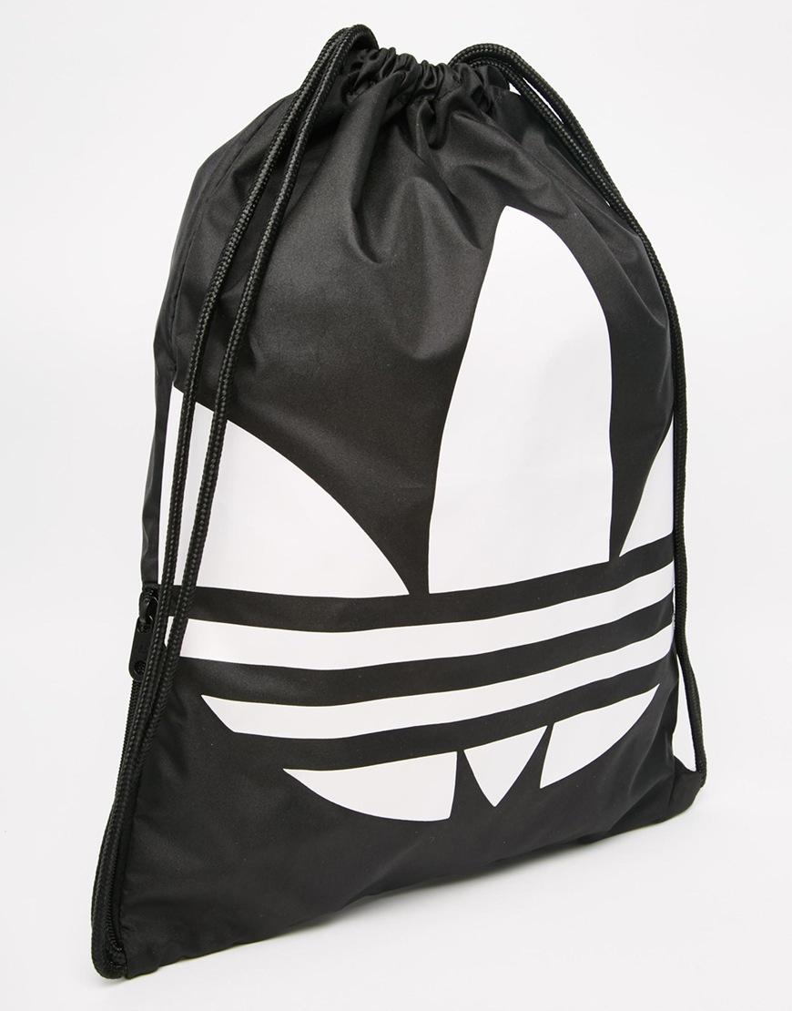 6eb53ca15c Lyst - adidas Originals Originals Drawstring Backpack In Black ...
