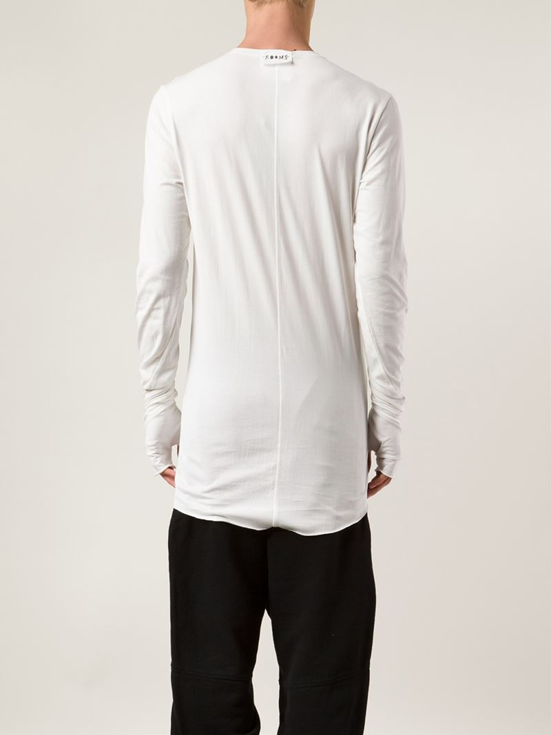 Excellent longsleeved T-shirt - White Lost And Found Rooms Cheap Sale Best Wholesale Factory Outlet Online Cheap Sale Choice Buy Cheap For Nice nsJU5