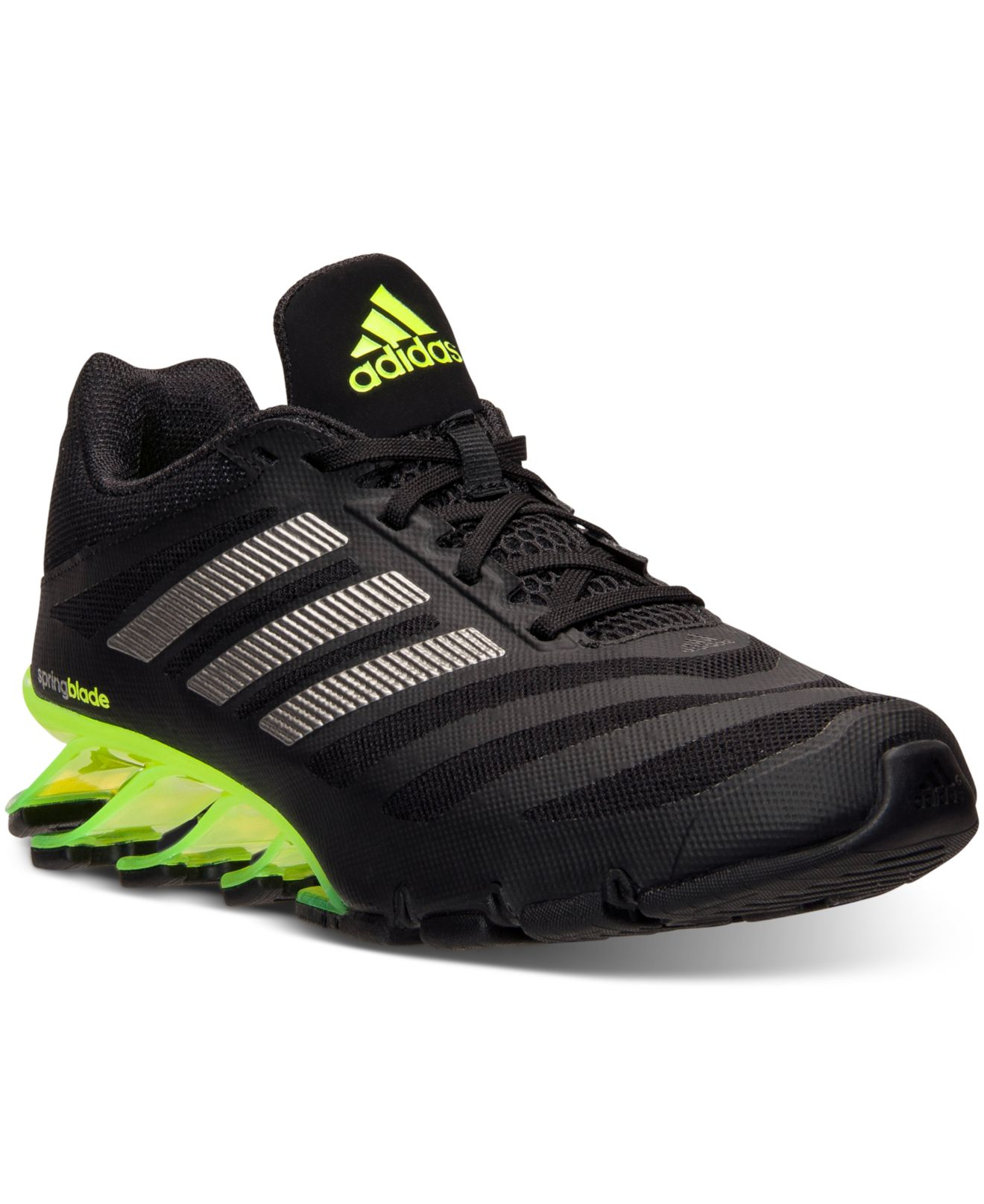 finest selection 91f8a e7118 adidas Men s Springblade Ignite Running Sneakers From Finish Line in ...