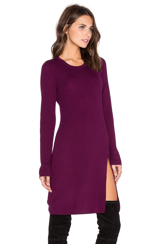 Bcbgmaxazria Mady's On Sweater Dress in Purple | Lyst