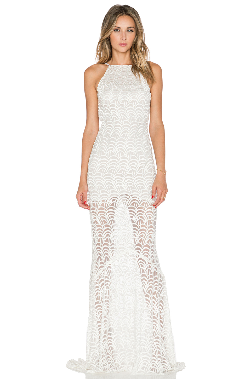 Lyst - Stone Cold Fox Logan Gown in White