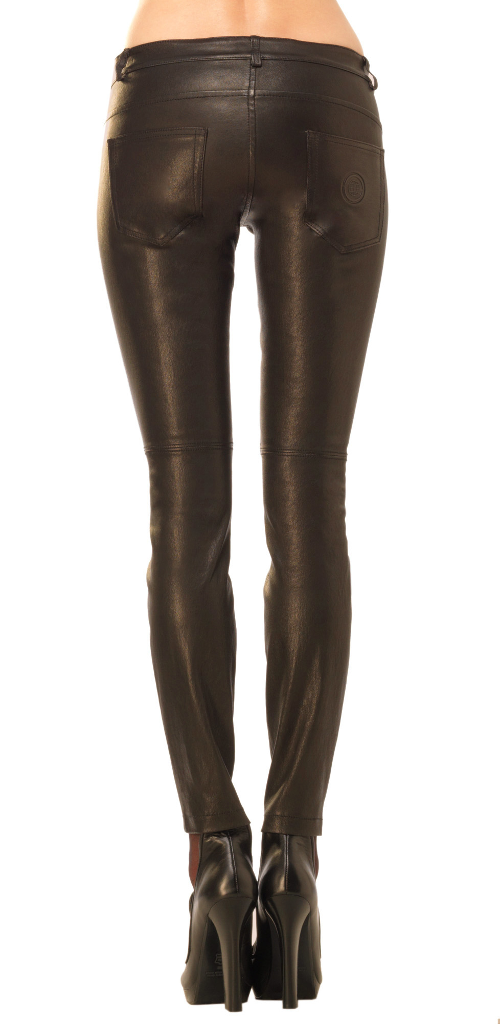 The leather is soft and beautiful and they provide a generous length, I am quite short so I actually tuck the pants underneath to make them the right height for me. I would recommend sizing down, I am normally an 8 (AUS sizing) in pants and purchased the 0 and they are a perfect fit.