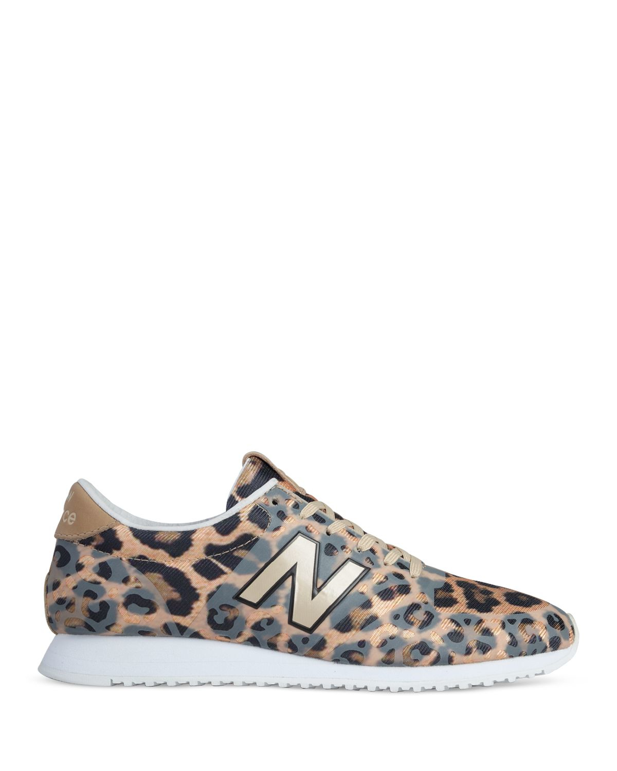 new balance leopard print 420 sneakers in animal leopard lyst. Black Bedroom Furniture Sets. Home Design Ideas
