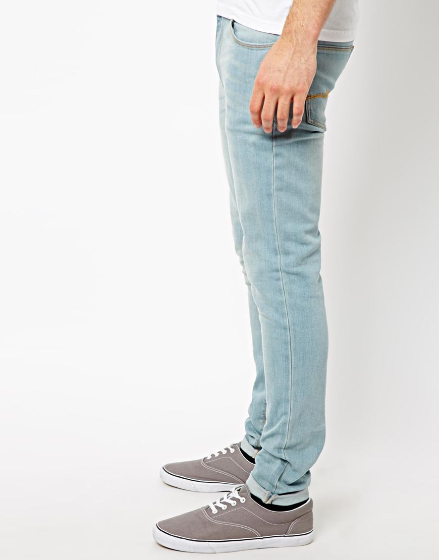 Asos Super Skinny Jeans In Light Wash in Blue for Men | Lyst