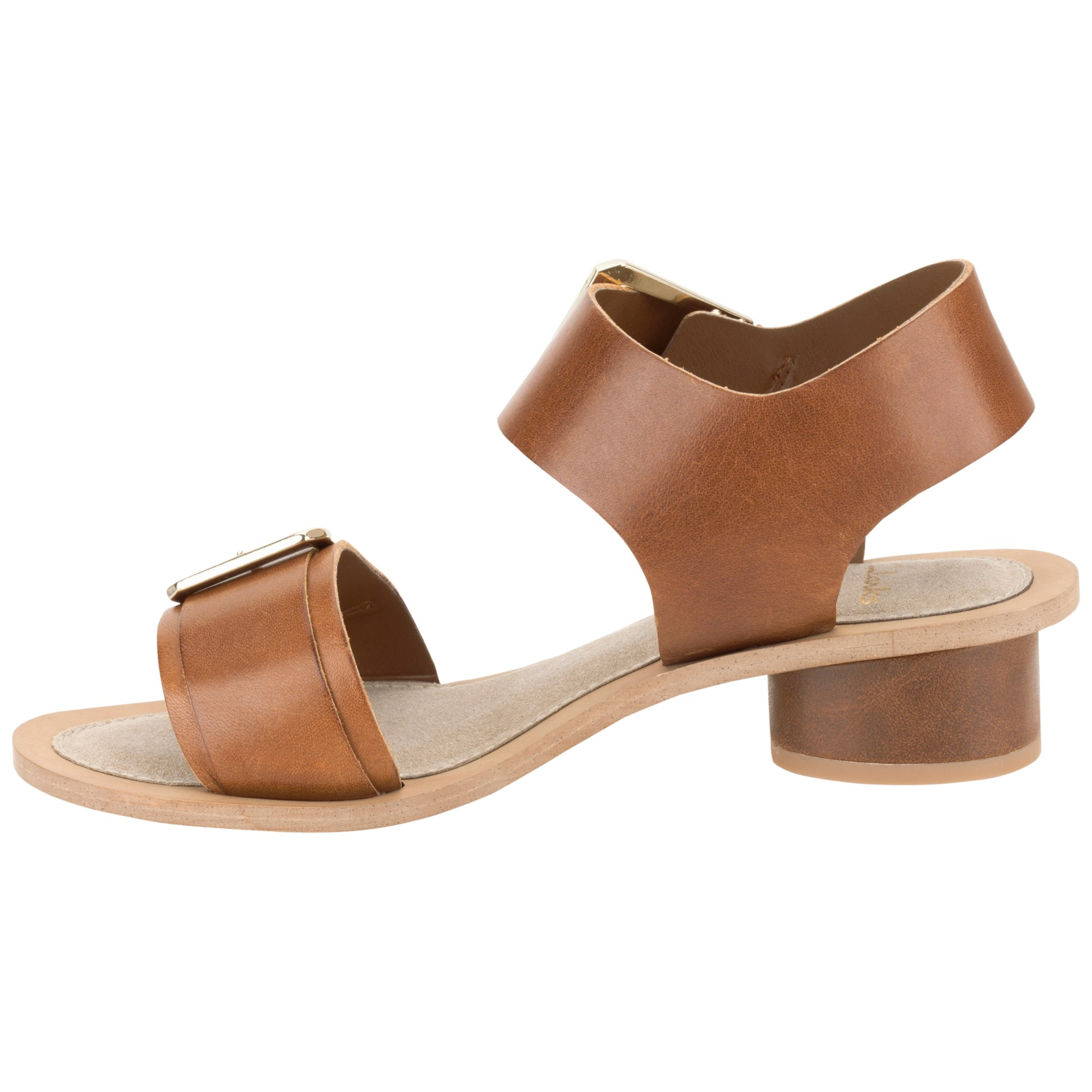 d1b1428e54951 Clarks Sandcastle Art Leather Sandals in Brown - Lyst