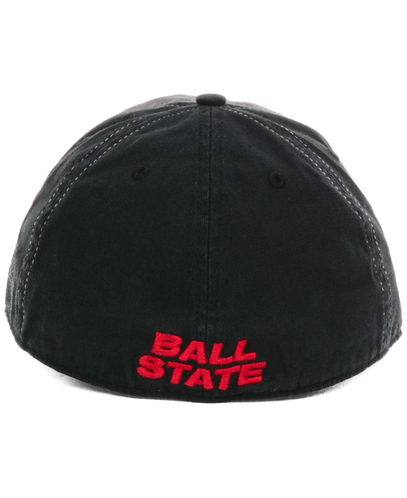 c372bbea057a6 Lyst - 47 Brand Ball State Cardinals Undergrad Easy Fit Cap in Black ...