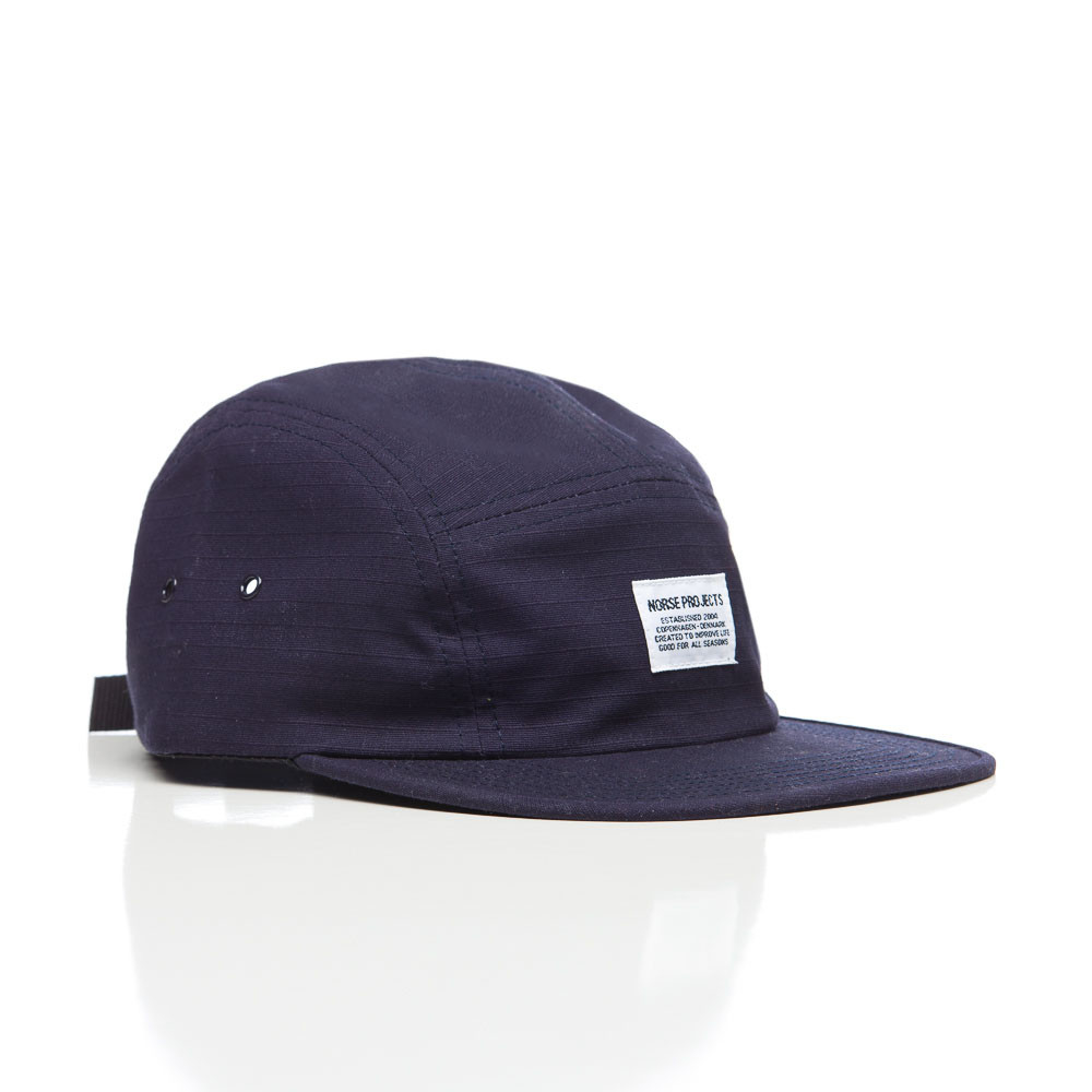 17c95ce2d98 Lyst - Norse Projects Ripstop 5 Panel In Navy in Blue for Men