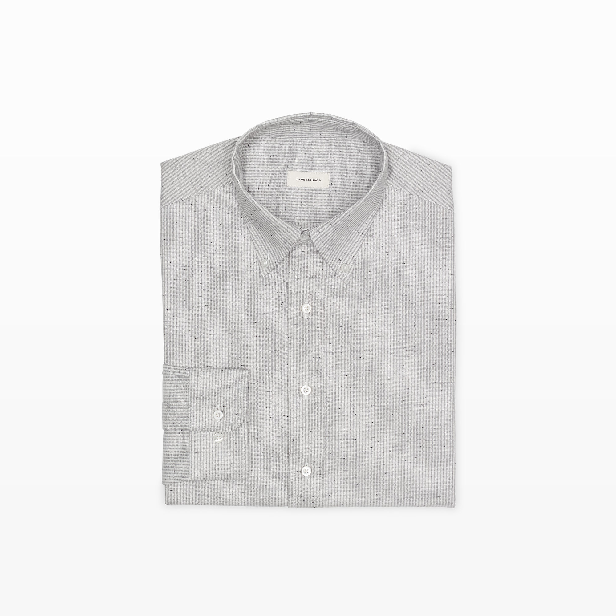 Lyst Club Monaco Made In The Usa Dress Shirt In Gray For Men