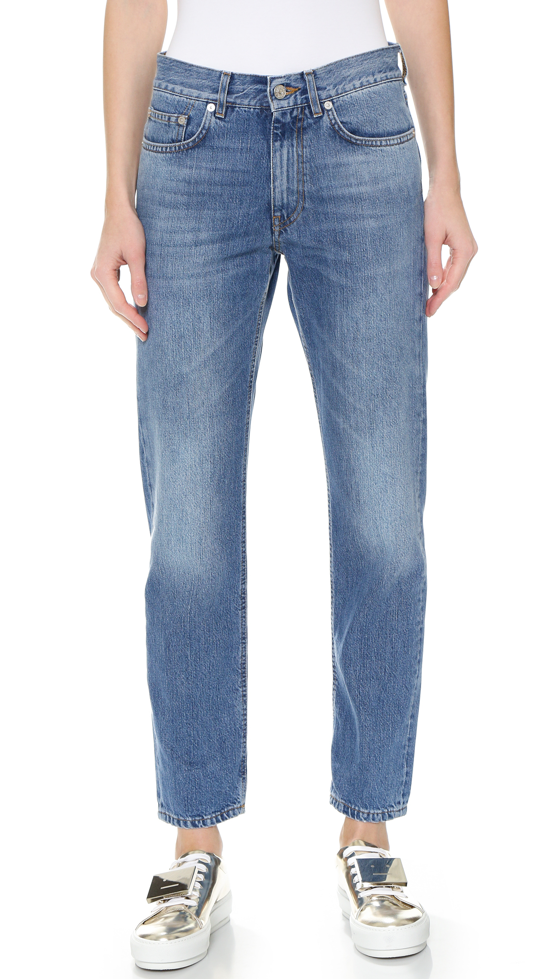 Lyst - Acne studios The Boy Jeans - Vintage in Blue