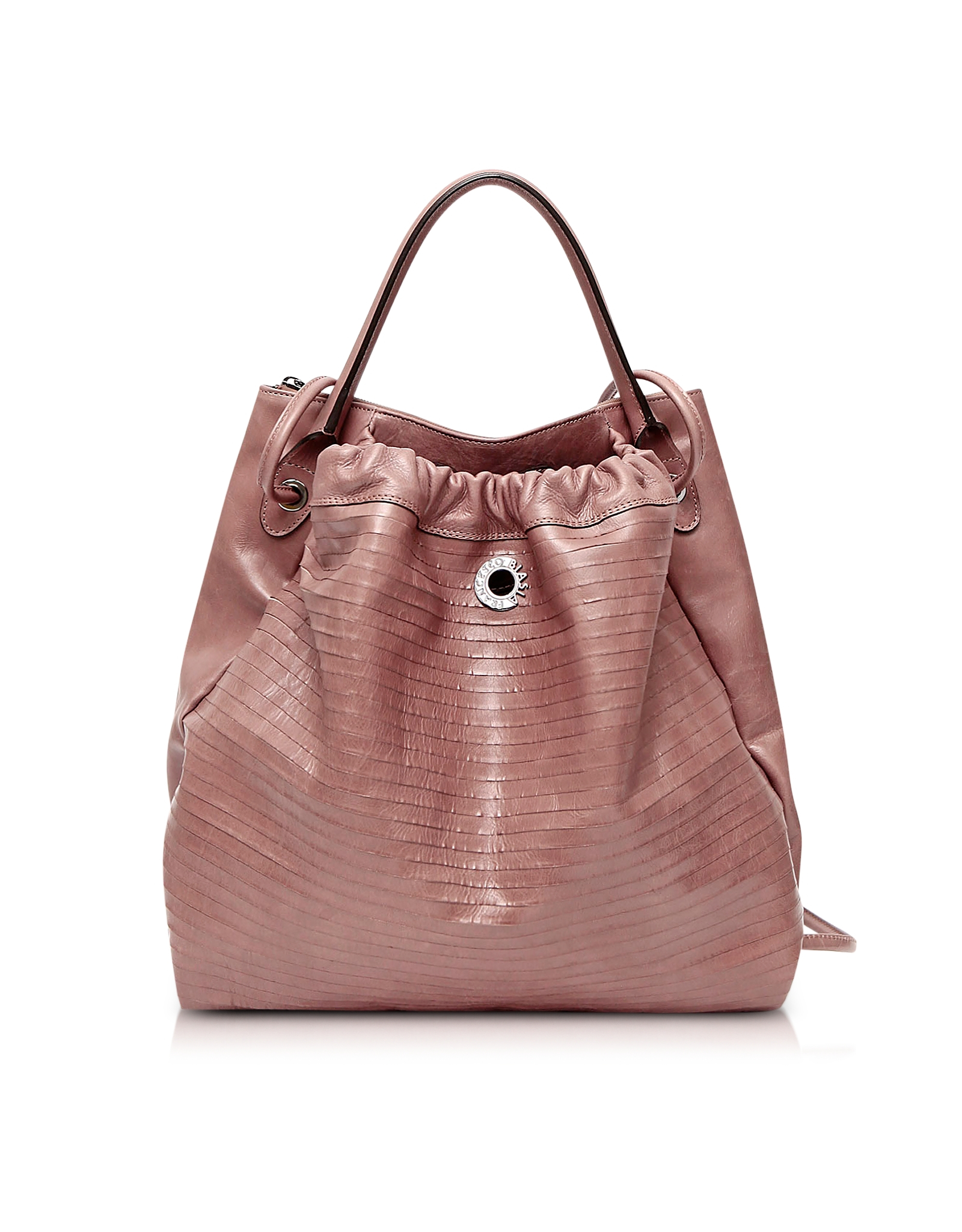 966a5d7aa555 Francesco Biasia Fresia Genuine Goatskin Leather Backpack in Pink - Lyst