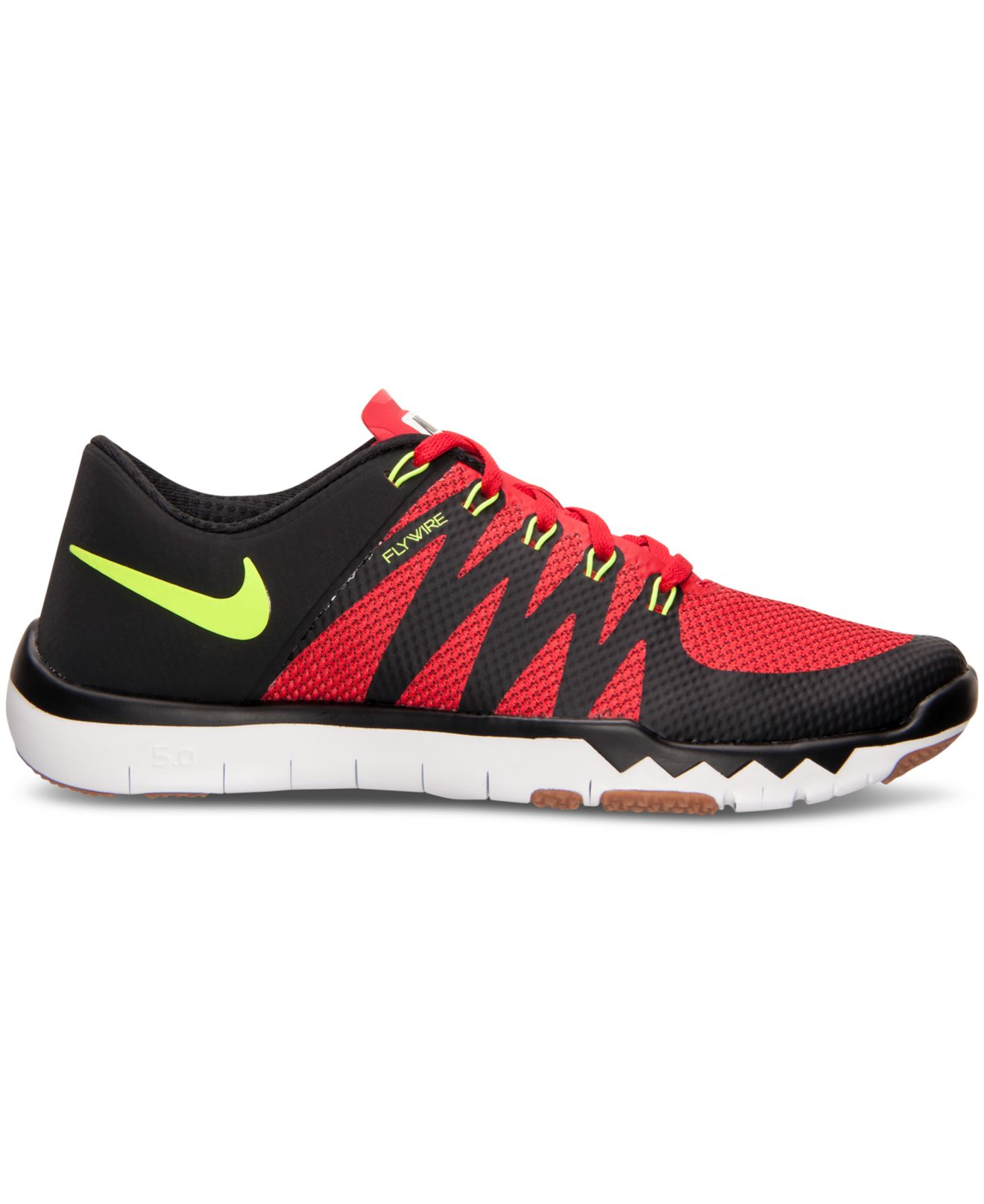 red nike 5.0 mens finish line
