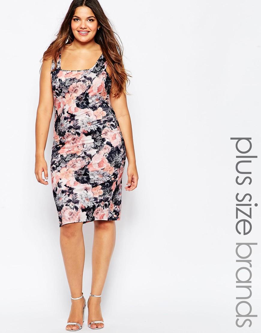 Plus Size Midi Dresses White – DACC