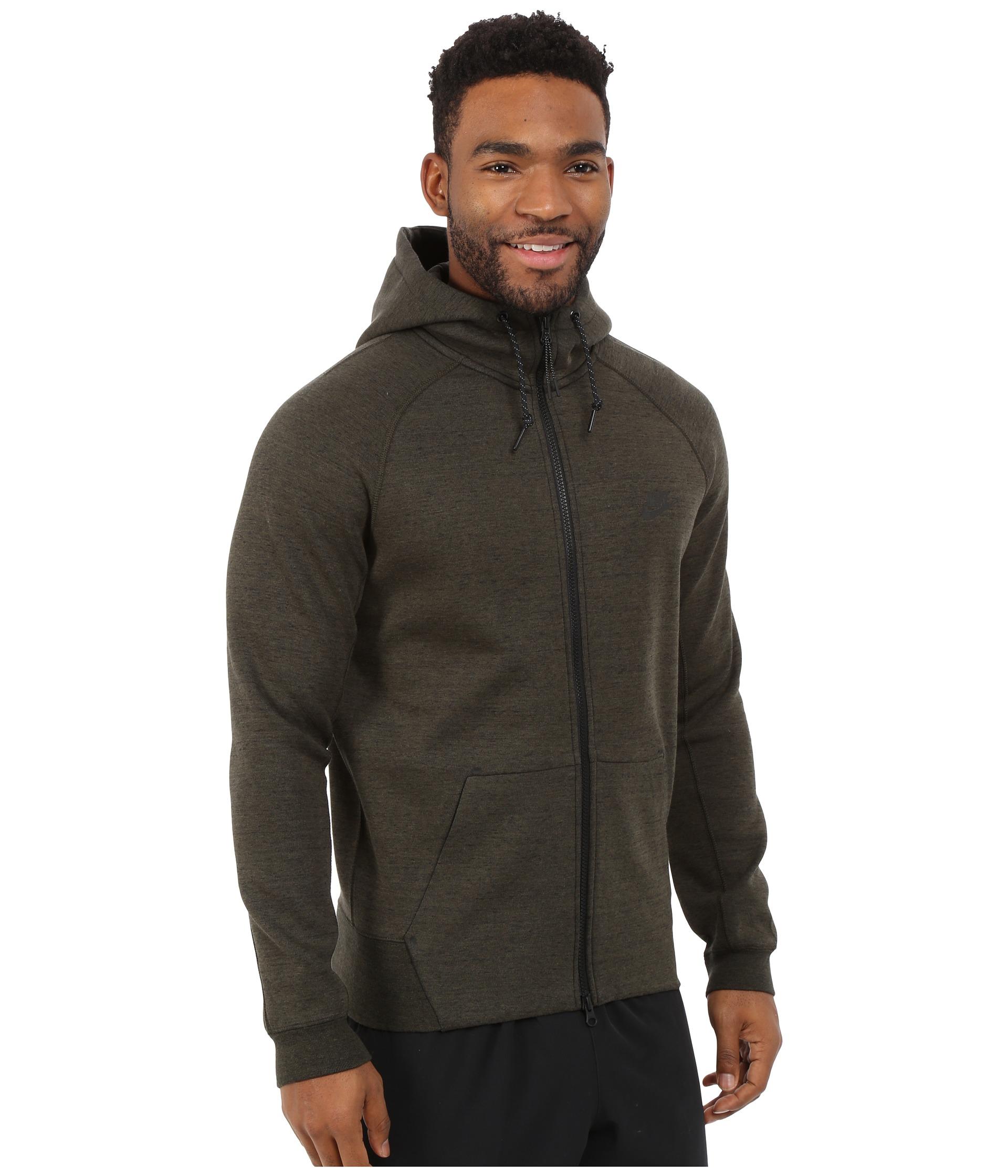 6042c271f268 Lyst - Nike Tech Fleece Aw77 1.0 Full-zip Hoodie in Natural for Men