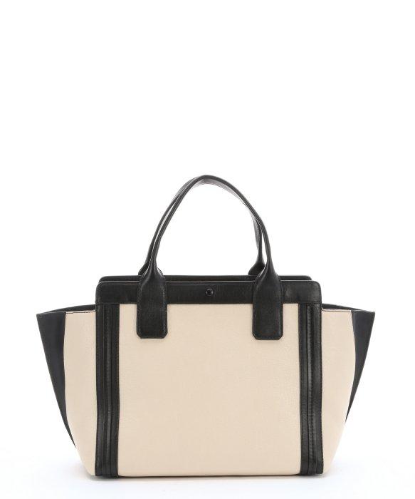 fake chloe purses - chloe grained leather large charlotte tote huskey white