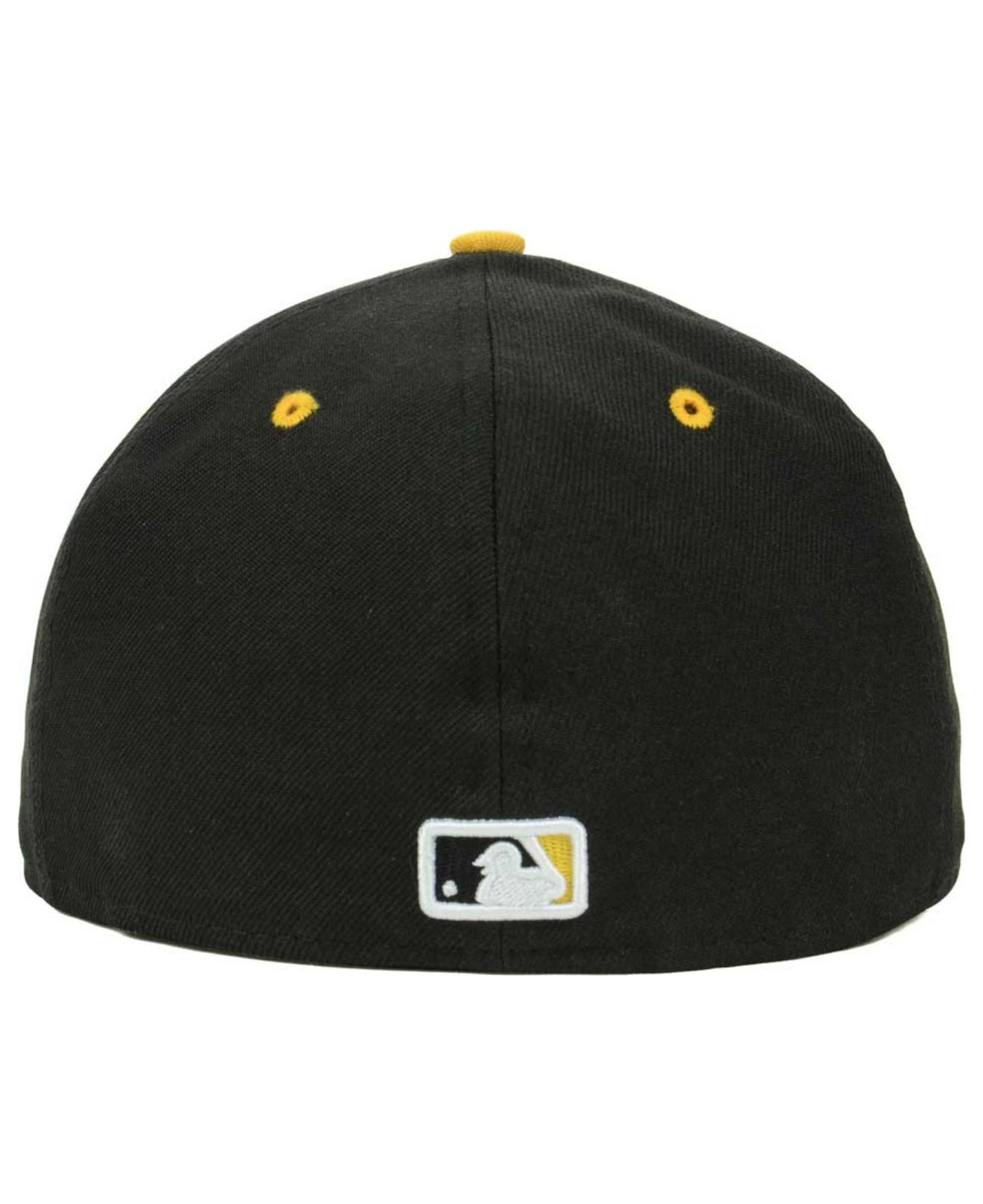 various colors fac6b 770ec ... inexpensive lyst ktz pittsburgh pirates hall a frame 59fifty cap in  black for men be27d f401f
