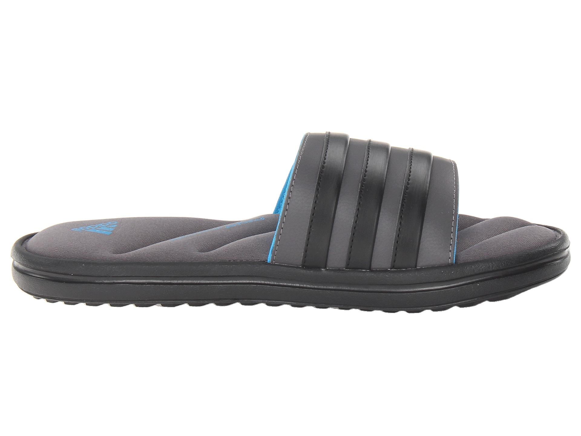 2ef542c2ea613e Lyst - adidas Originals Zeitfrei Fitfoam™ Slide in Gray for Men