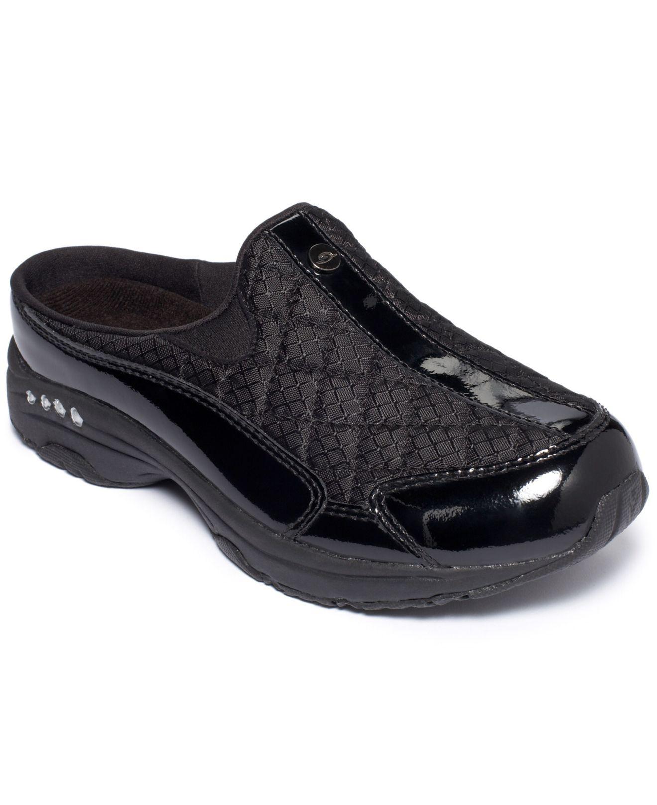 Easy Spirit Traveltime Sneakers In Black Save 15 Lyst