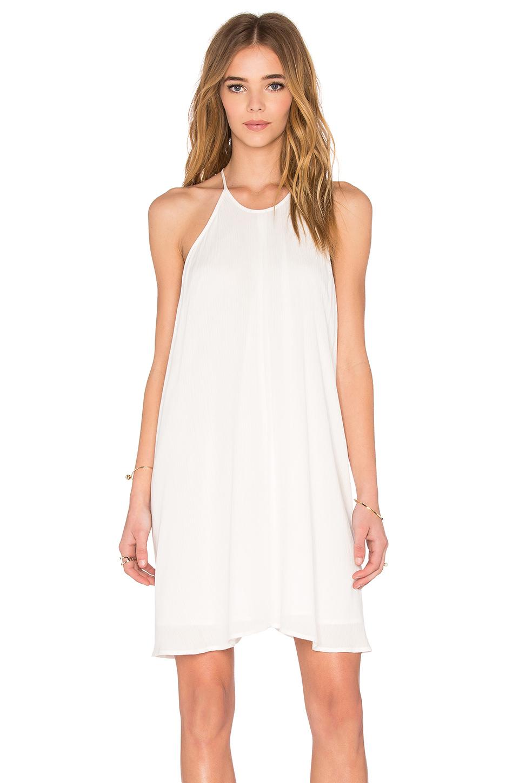 Blaque Label Gauze Dress In White | Lyst