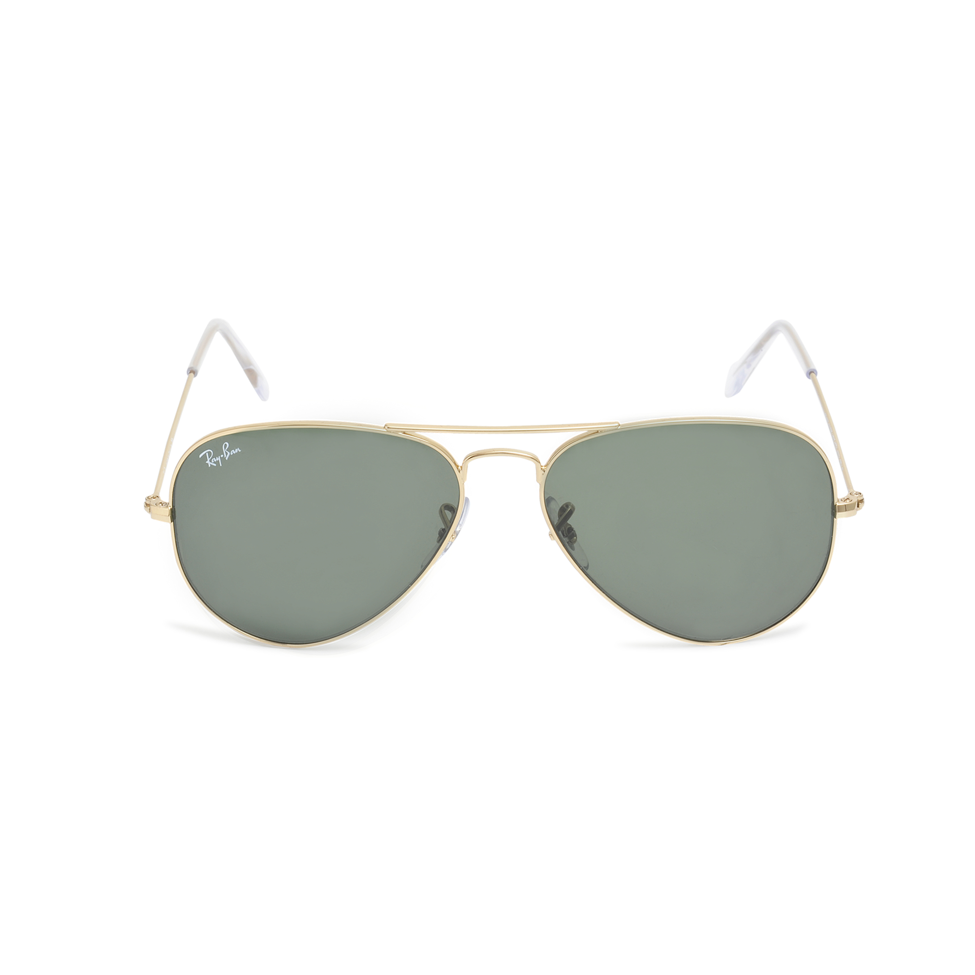 ray ban aviator 3025 sunglasses in gray lyst. Black Bedroom Furniture Sets. Home Design Ideas