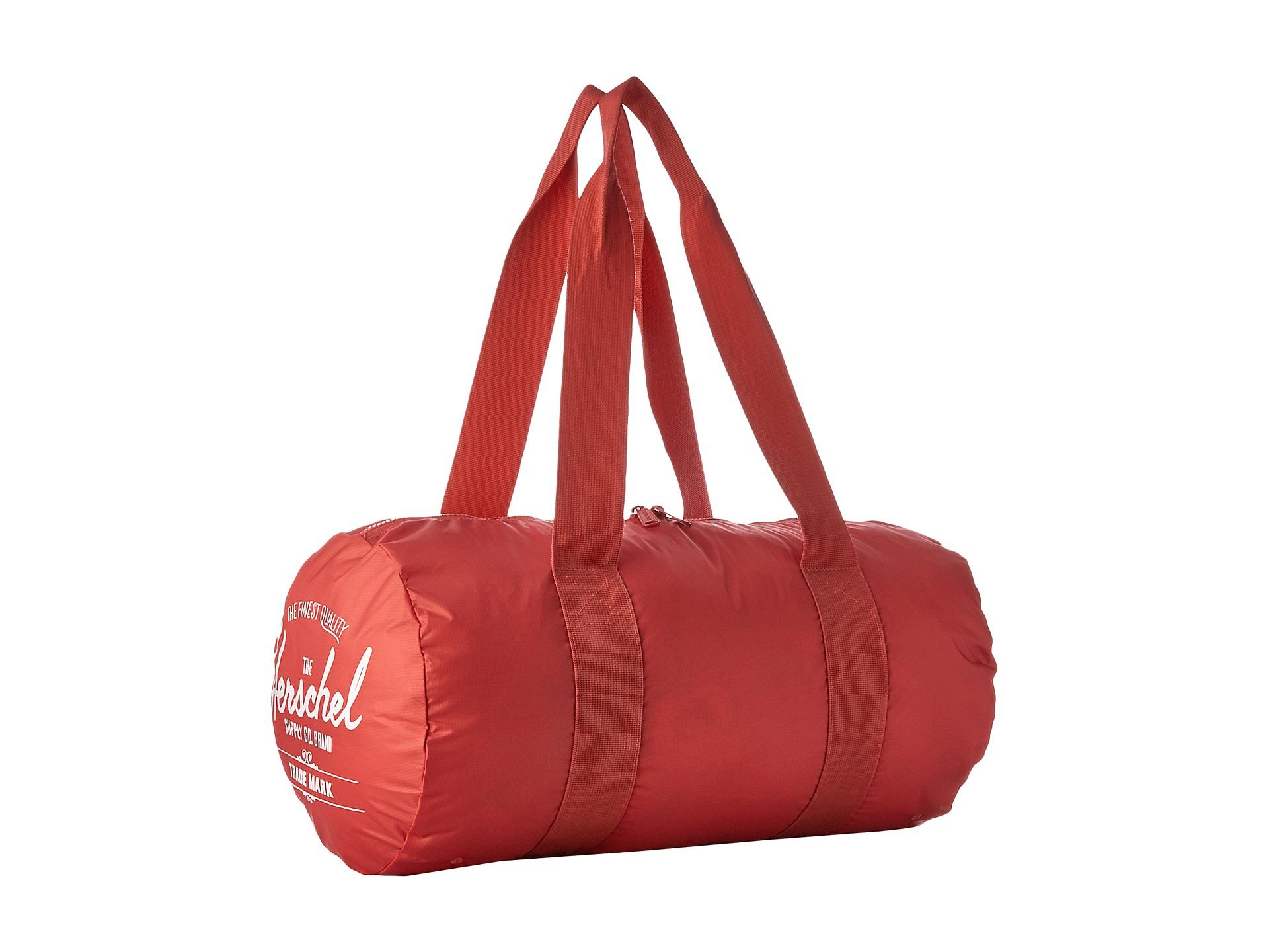50b256122e59 Lyst - Herschel Supply Co. Packable Duffle Bag in Pink