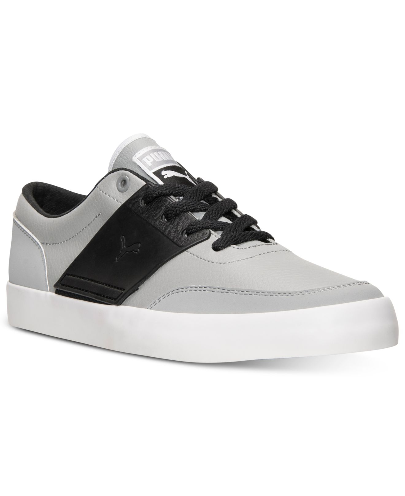 Lyst - PUMA Men s El Ace 4 Casual Sneakers From Finish Line in Gray ... 5778349d2