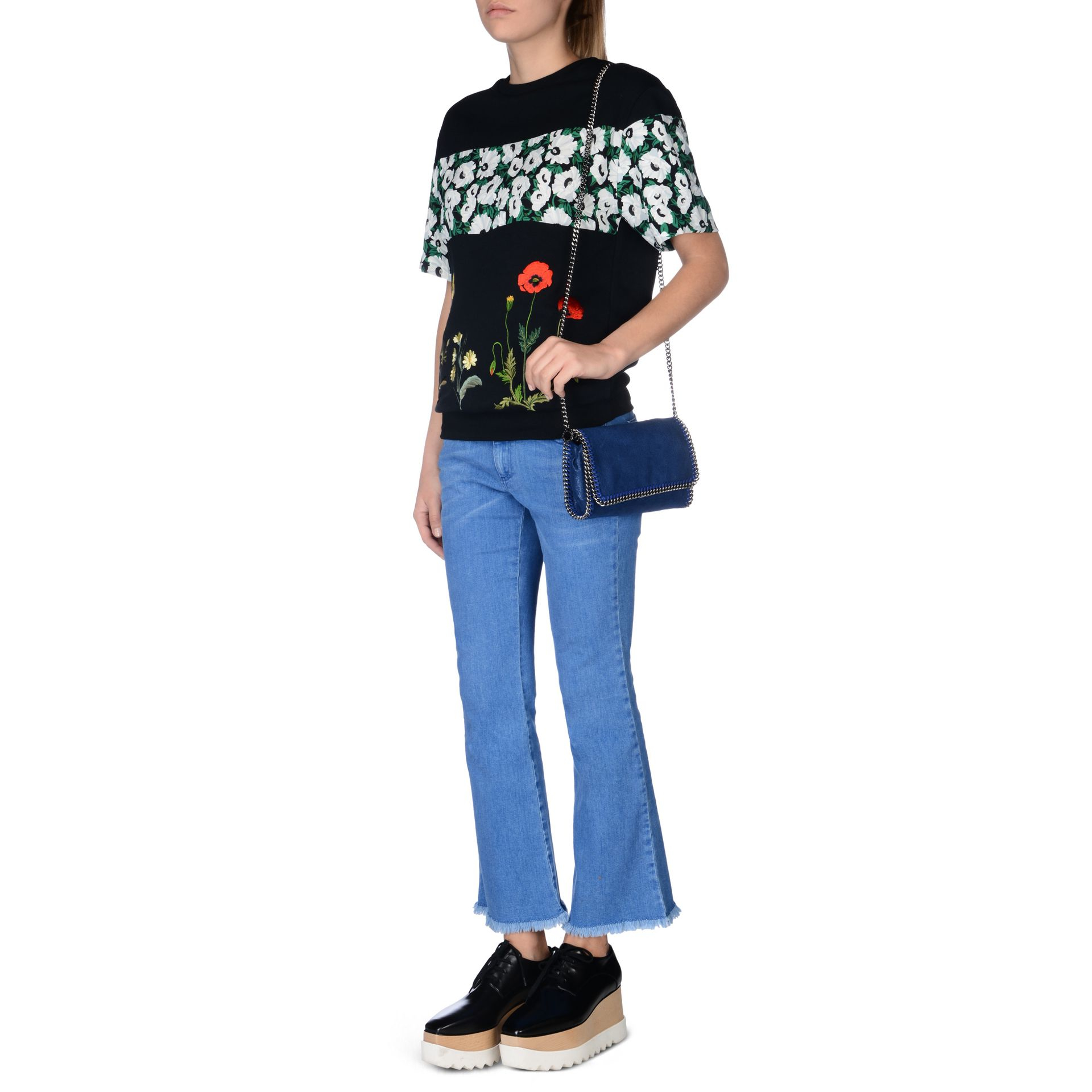 Falabella Shaggy Deer crossbody bag - Blue Stella McCartney Online Shopping Sale Newest 0iJRBalm