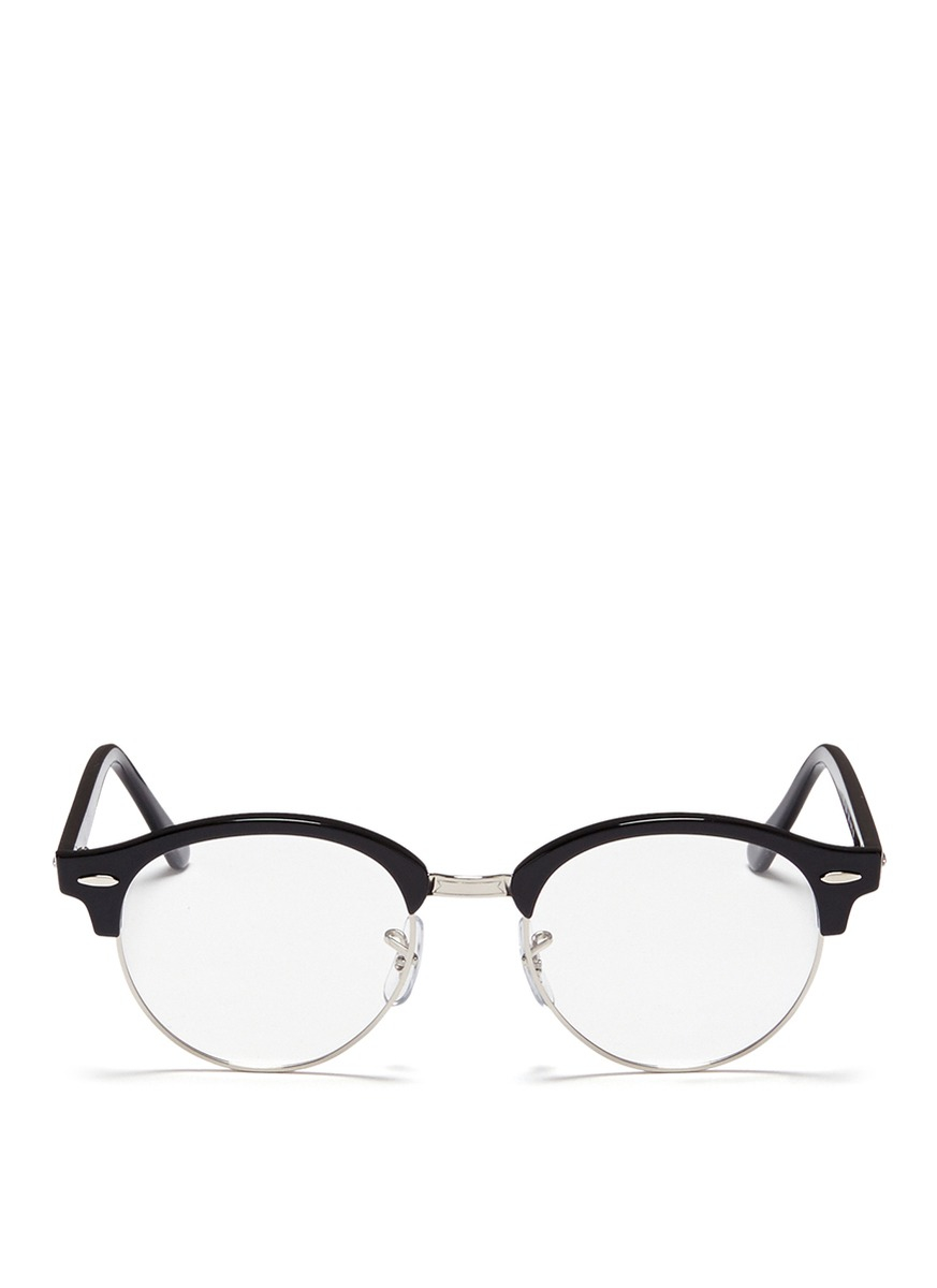 clubmaster acetate sunglasses  ray ban clubmaster acetate and metal optical glasses