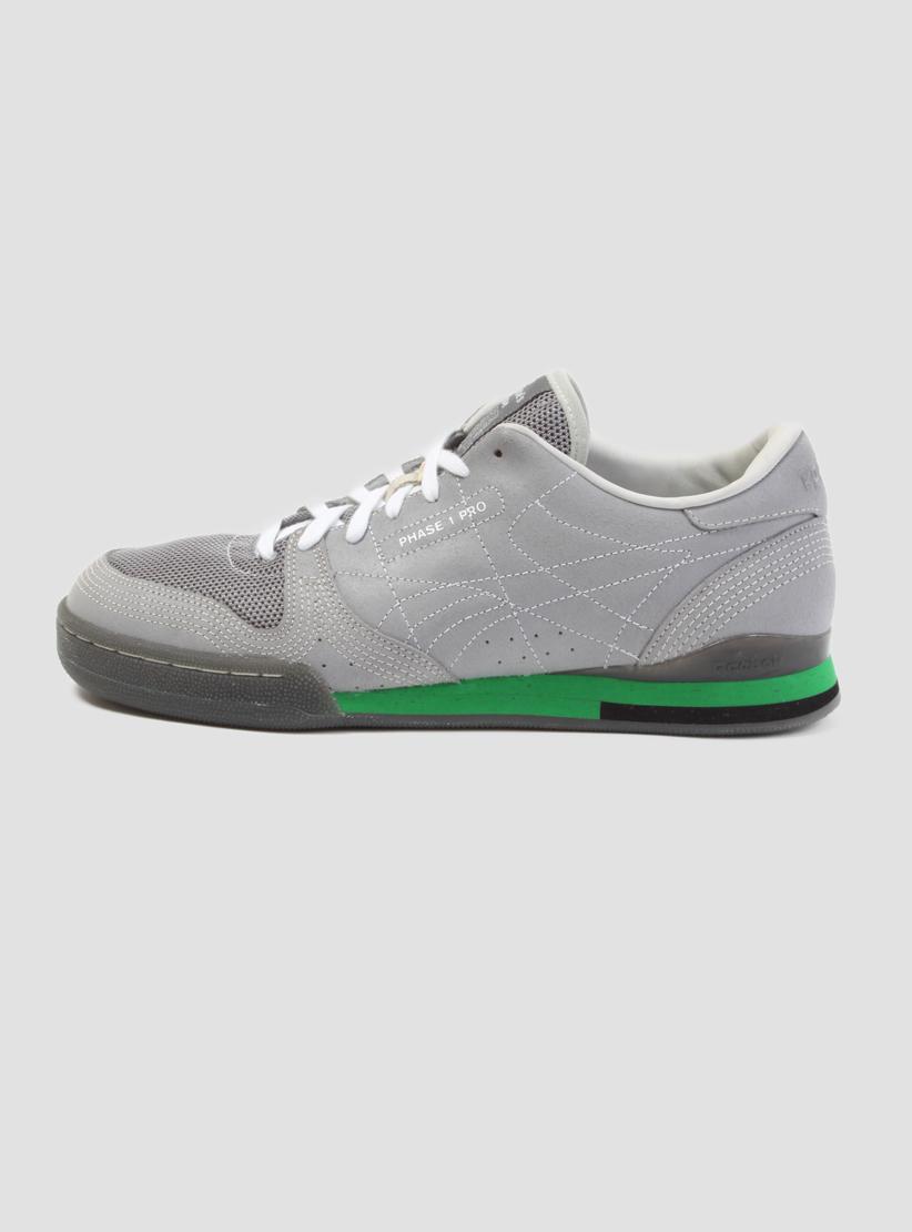 Lyst - Reebok Phase 1 Pro Grey   Green in Gray for Men 738096bca