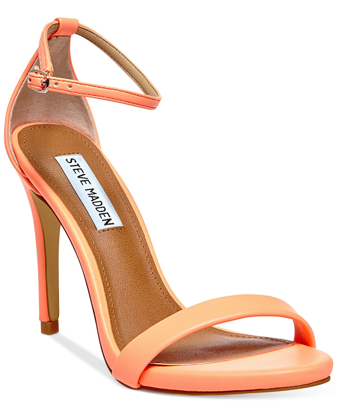 255153112b5 Lyst - Steve Madden Stecy Two Piece Sandals in Pink