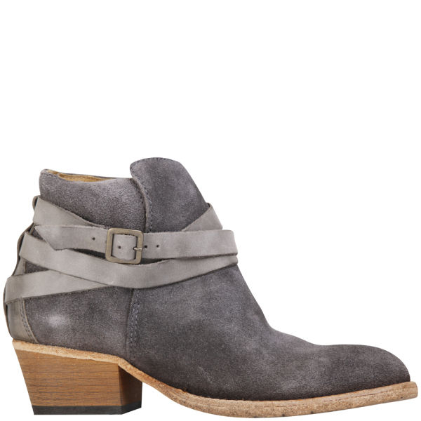 H by hudson Womens Horrigan Suede Ankle Boots in Gray | Lyst