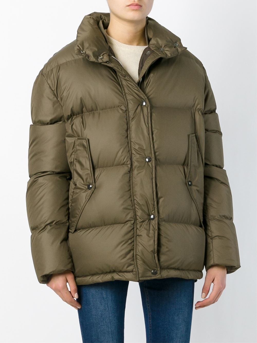 Golden goose deluxe brand Padded Jacket in Brown | Lyst