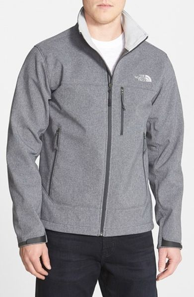 Coupon Code For North Face Mens Bionic Jackets - Clothing The North Face Apex Bionic Climateblock Windproof Water Resistant Softshell Jacket Asphalt Grey Heather